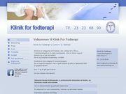 Klinik for fodterapi (Lene H D Nielsen) - 23.11.13