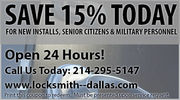 Dallas Locksmiths - 25.08.13