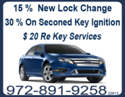 Dallas's Car Locksmiths - 25.08.13
