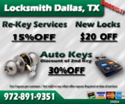 Local 24 Hour Locksmith Dallas,TX - 25.08.13