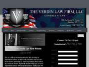 Verdin Law Firm, LLC - 12.03.13