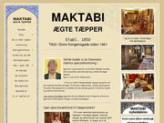 Maktabi Ægte Tæpper ApS - 23.11.13
