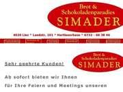 Brot & Schokoladenparadies Simader - 09.03.13