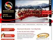 Die roten Profis - Skischule Mayrhofen - 12.03.13