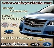 Car Keys Locksmith in Orlando,FL - 13.08.13