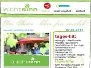Leichtsinn - Vitalbistro - 07.03.13