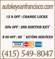Auto Key Locksmith San Francisco - 16.02.14