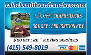 Automotive Locksmith in San Francisco - 16.02.14