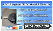 Car Key Locksmith in San Francisco,CA - 16.02.14