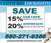 Car Locksmith San Francisco,CA - 20.03.14