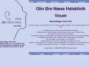 Olin øre- næse halsklinik (Speciallæge Helle Olin) - 23.11.13