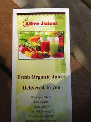 Alive Juices - 21.10.14